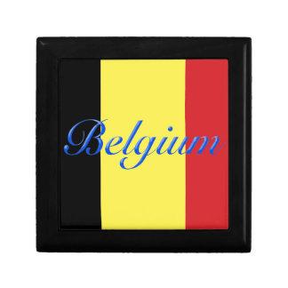 Belgium flag keepsake box