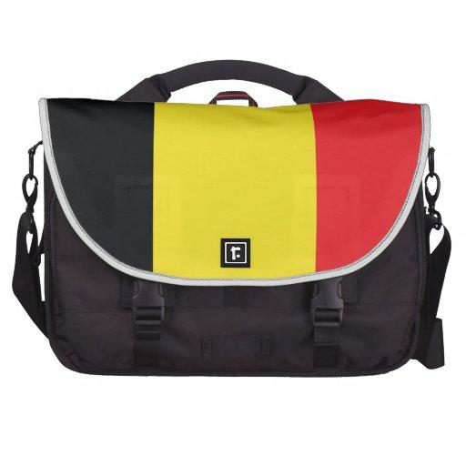Belgium Flag Laptop Commuter Bag