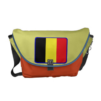 Belgium flag messenger bag