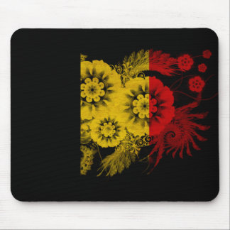 Belgium Flag Mouse Pad