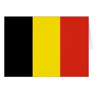 Belgium Flag Notecard