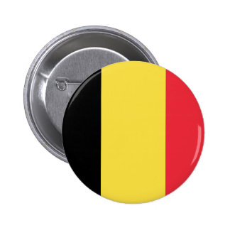 Belgium Flag Pinback Button