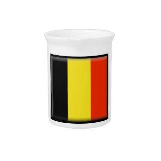 Belgium Flag Drink Pitchers