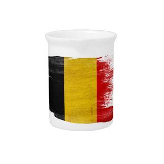 Belgium Flag Drink Pitcher