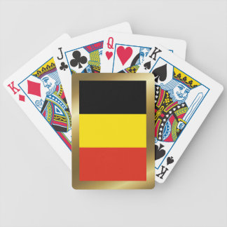 Belgium Flag Playing Cards