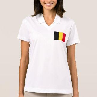 Belgium Flag Polo T-shirt