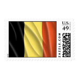 BELGIUM FLAG POSTAGE