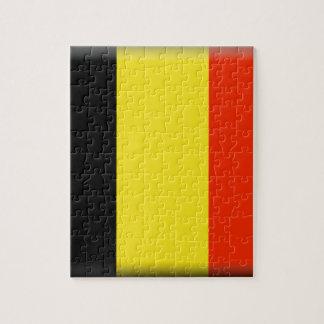 Belgium Flag Puzzle