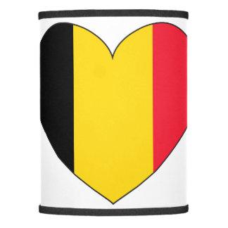 Belgium Flag Simple Lamp Shade