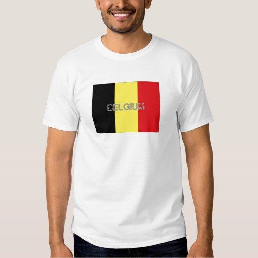 Belgium flag souvenir t-shirt