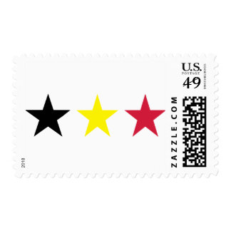 Belgium Flag Stamp