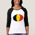 Belgium Gnarly Flag T-Shirt