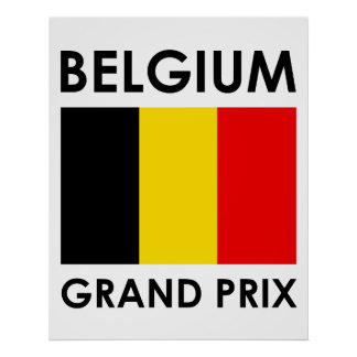 Belgium Grand Prix Poster