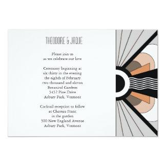 Belgium Invite:  Suntan 5x7 Paper Invitation Card