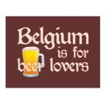 Belgium is for Beer Lovers Postcard