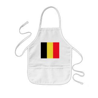 belgium kids' apron