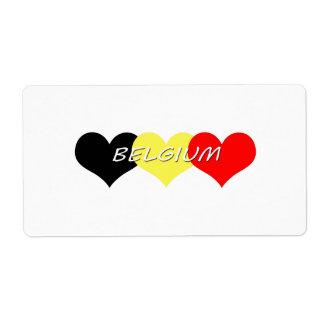 Belgium Label