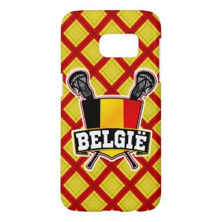 Belgium Lacrosse Flag Phone Cover