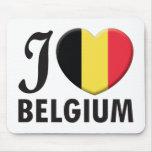 Belgium Love Mouse Mats