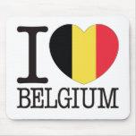 Belgium Love v2 Mouse Pad