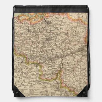 Belgium, Luxemburg Drawstring Bag