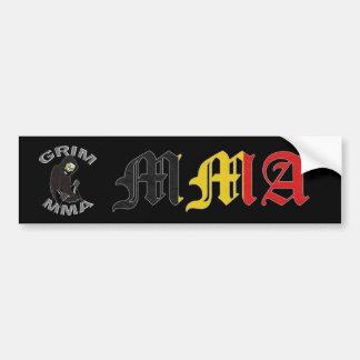 Belgium MMA Bumper Sticker