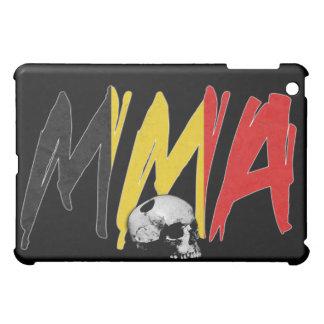 Belgium MMA Skull Black iPad Case