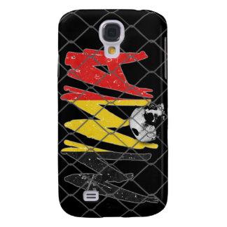 Belgium MMA Skull Black iPhone 3G/3GS Case