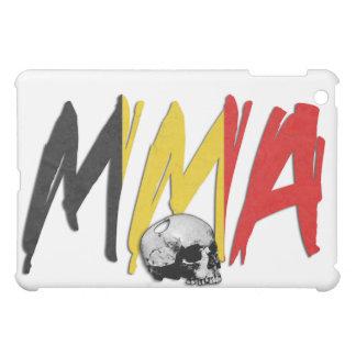 Belgium MMA Skull White iPad Case