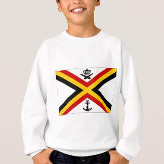 Belgium Naval Ensign Flag Sweatshirt