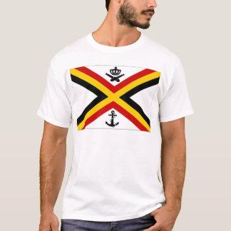 Belgium Naval Ensign Flag T-Shirt