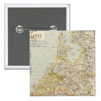 Belgium, Netherlands 2 Pinback Button