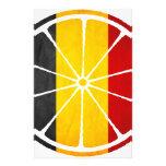 BELGIUM ORANGE PRODUCTS STATIONERY DESIGN