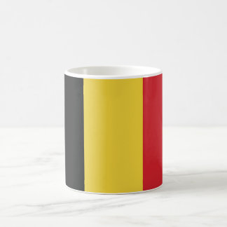 Belgium Plain Flag Coffee Mug