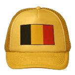Belgium Plain Flag Mesh Hat