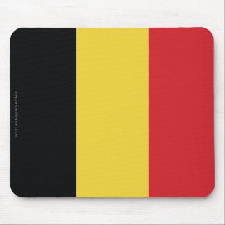 Belgium Plain Flag Mouse Pad