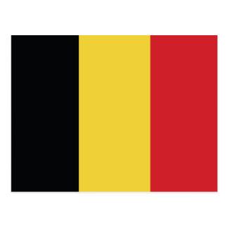 Belgium Plain Flag Postcard