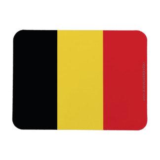 Belgium Plain Flag Flexible Magnet
