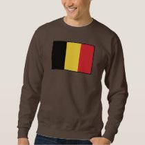 Belgium Plain Flag Sweatshirt