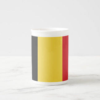Belgium Plain Flag Tea Cup