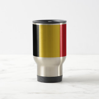 Belgium Plain Flag Travel Mug