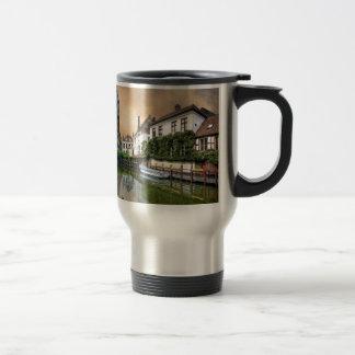 Belgium River Landscape Travel Mug