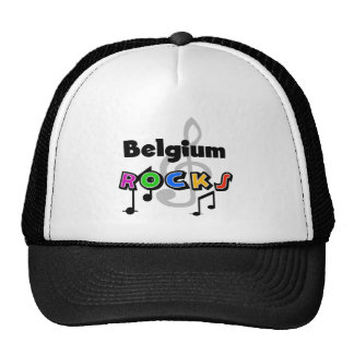 Belgium Rocks Hats