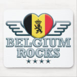 Belgium Rocks v2 Mouse Pad