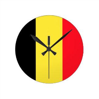 belgium round clock