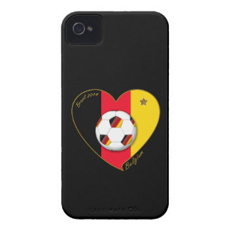 """BELGIUM"" Soccer 2014 and Belgian Football Team iPhone 4 Cover"