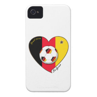 """BELGIUM"" Soccer 2014. Soccer of Belgium iPhone 4 Cover"