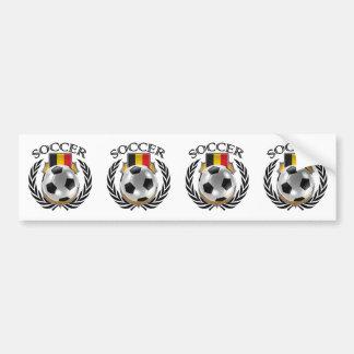 Belgium Soccer 2016 Fan Gear Bumper Sticker