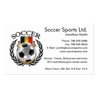 Belgium Soccer 2016 Fan Gear Business Card