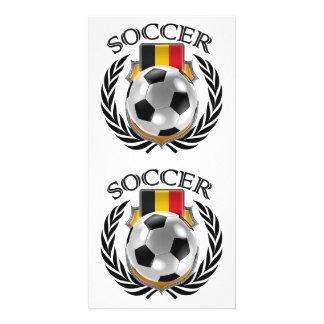 Belgium Soccer 2016 Fan Gear Card